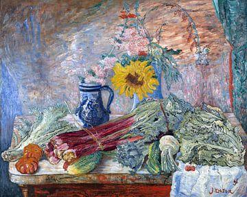 James Ensor. Bloemen en groenten