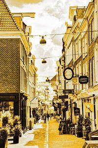 Innenstadt von Den Haag Niederlande Gold