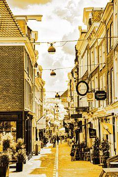 Binnenstad van  Den Haag Nederland Goud van Hendrik-Jan Kornelis