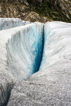 Gletsjerspleet von Remco de Zwijger