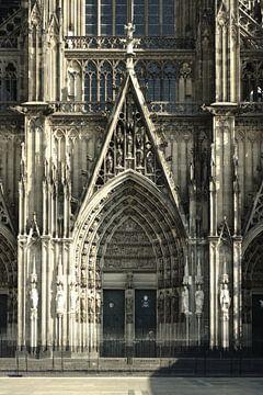 Südportal des Kölner Doms von Berthold Werner