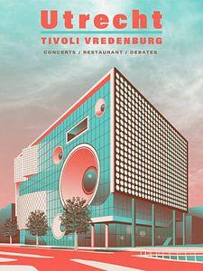 Utrecht - Tivoli Vredenburg von