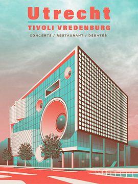 Utrecht - Tivoli Vredenburg von Gilmar Pattipeilohy