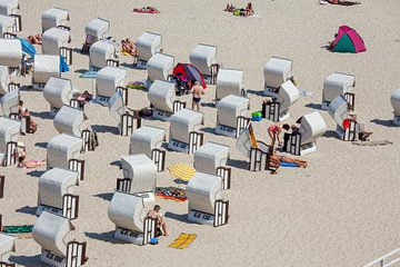 Strand,  Sellin, Insel Rügen, Mecklenburg-Vorpommern von Torsten Krüger