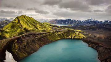 Paysage volcanique Islande sur videomundum