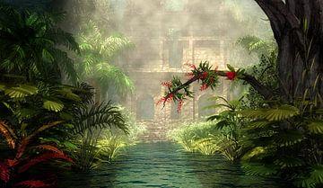 Jungle Stad van Britta Glodde