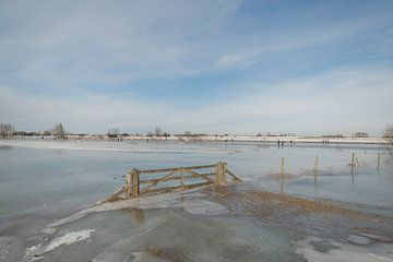 Paysage d'hiver sur Moetwil en van Dijk - Fotografie