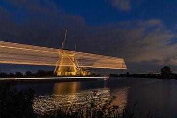 Moulins de Kinderdijk 5 sur Annemiek van Eeden