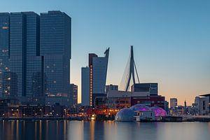 Rotterdam-Zuid vanaf de Rijnhaven
