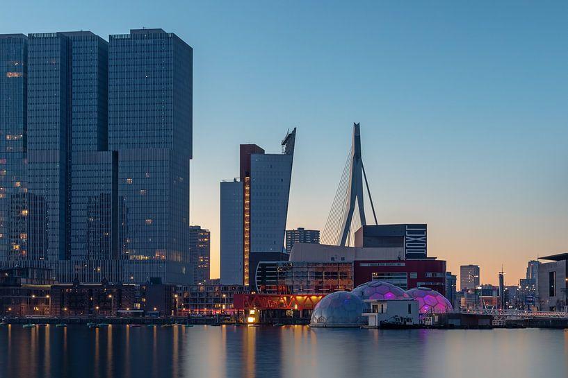 Rotterdam-Zuid vanaf de Rijnhaven van Annette Roijaards