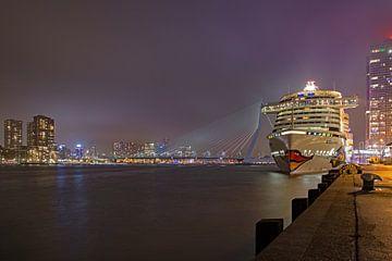 Rotterdam Erasmusbrug Aida von Jan Roelof Brinksma