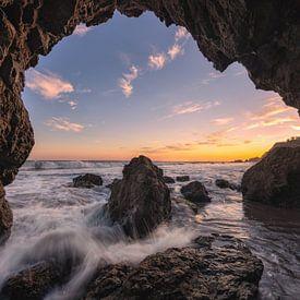 Malibu Sunset van Reinier Snijders