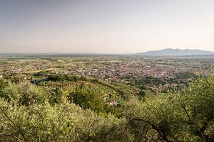 Uitzicht op Montecatini Terme in Toscane