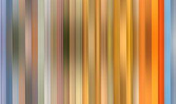 Kleurenpalet van de Zonsondergang in Nederland van