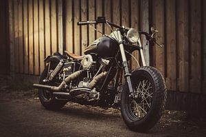 Harley Davidson Shovelhead van