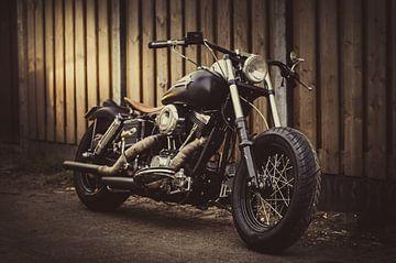 Harley Davidson Shovelhead von Rianne Hazeleger