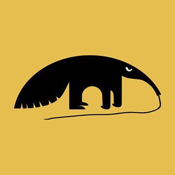 Bêtes en colère - Tamanoir sur > VrijFormaat <