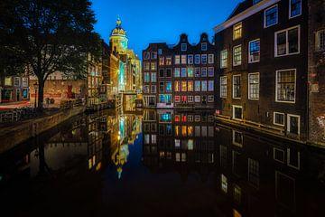 Prachtige ouderwets Amsterdam van Roy Poots