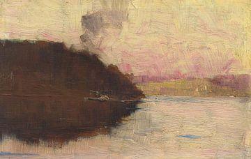 Arthur Streeton~(Der Punkt, Sonnenuntergang)