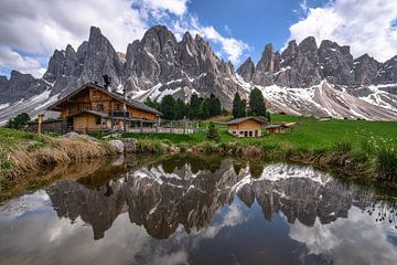 Geisleralm Zuid-Tirol van Achim Thomae