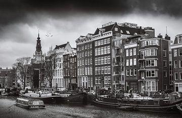 Amsterdam en noir et blanc sur Hamperium Photography