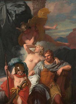 Merkur befiehlt Calypso, Odysseus gehen zu lassen, Gerard de Lairesse.