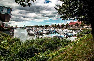 De haven van Sliedrecht van Susanne Viset