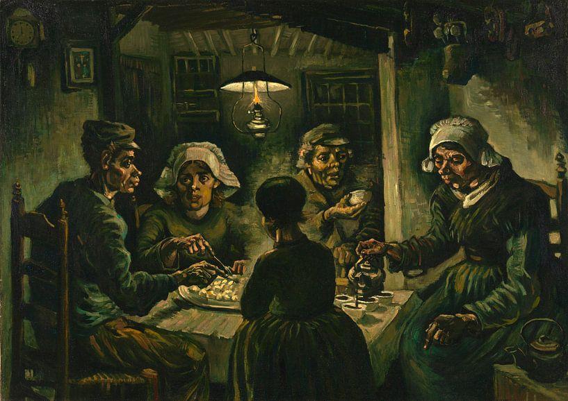 Vincent van Gogh, De aardappeleters van 1000 Schilderijen