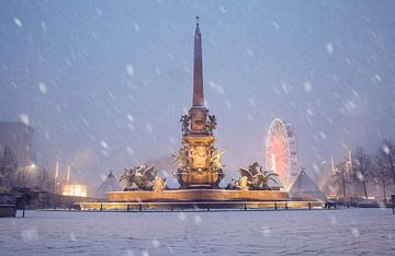 Mendebrunnen van Sergej Nickel