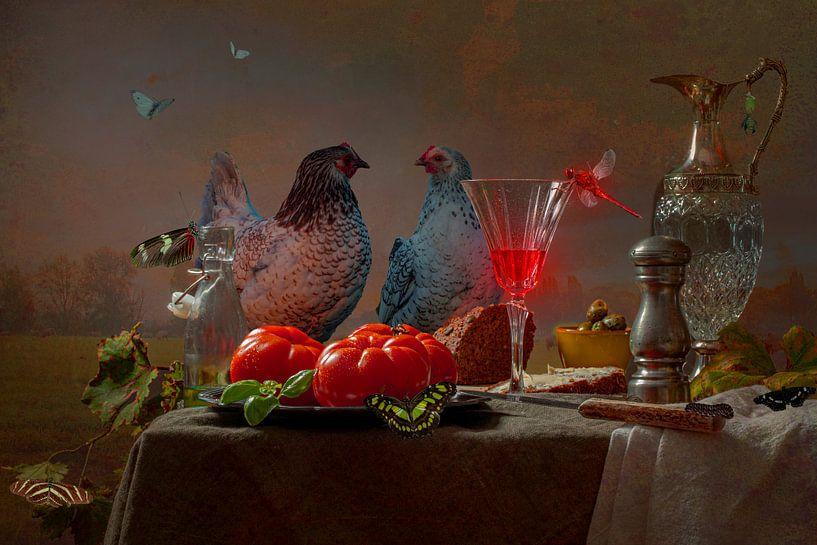 Abendrot von Willy Sengers