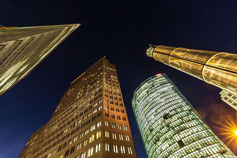 Potsdamer Platz Berlin Skyline sur Frank Herrmann