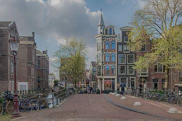 Oude Zijds Voorburgwal Amsterdam van Peter Bartelings Photography