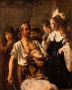 Salome empfängt das Haupt von Johannes dem Täufer, Nachfolge Rembrandt van Rijn