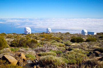 Tenerife, observatorium. van Robbie Buur