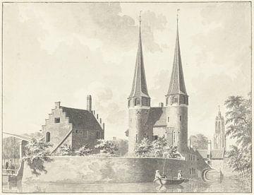 De Oostpoort te Delft, Gerrit Toorenburgh, 1761
