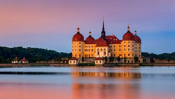 Chateau Moritzburg, Allemagne sur Adelheid Smitt
