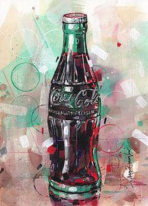 Coca-Cola-Malerei von Jos Hoppenbrouwers