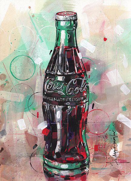 Coca Cola schilderij van Jos Hoppenbrouwers