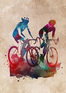 Radsport Fahrradsport Kunst