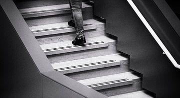 trappen, stairs van Renata Jansen