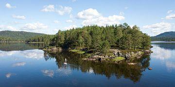 Le SUP solitaire en Norvège