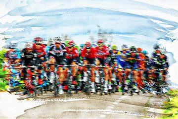 cycling sur Yvonne Blokland