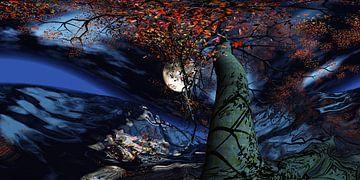 Arbre magique du rêve - Arbre des rêves magiques sur