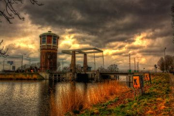 Watertoren Assendelft van Iwan Goulooze