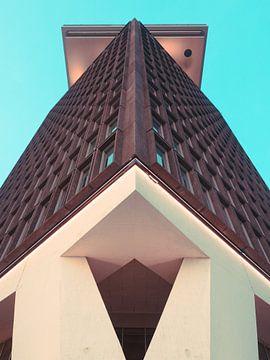Amsterdam Toren #2 van Roger Janssen
