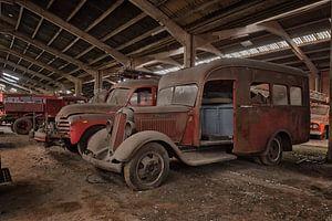 Lost Place - Feuerwehrautos