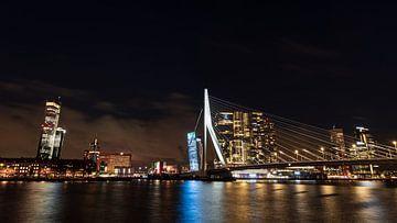 Rotterdamer Erasmusbrücke von Jacco van der Giessen