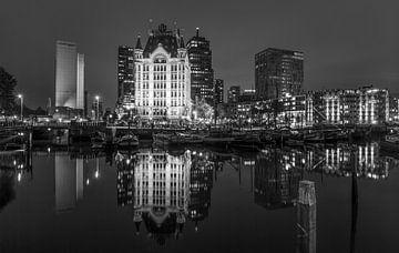 Le vieux Port à Rotterdam sur MS Fotografie | Marc van der Stelt