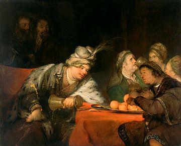 Das Bankett des Ahasuerus, Aert de Gelder