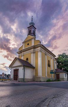 Kerk in Hongarije van Bernhard Nijenhuis